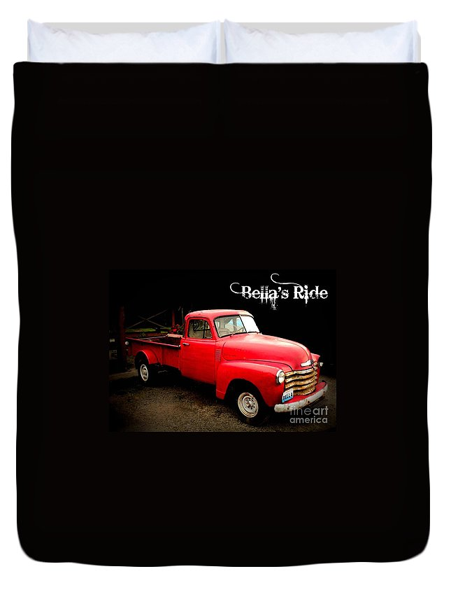 Bella Duvet Cover featuring the photograph Bella's Ride by Carol Groenen