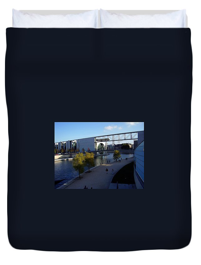 Paul-loebe Duvet Cover featuring the photograph Berlin II by Flavia Westerwelle