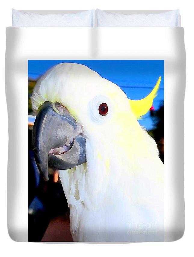 Digital Duvet Cover featuring the photograph Big Beak Ben by Ed Weidman