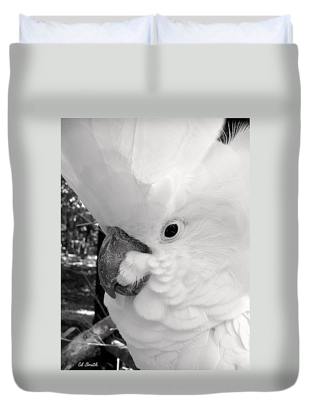 Big Chief Duvet Cover featuring the photograph Big Chief by Ed Smith