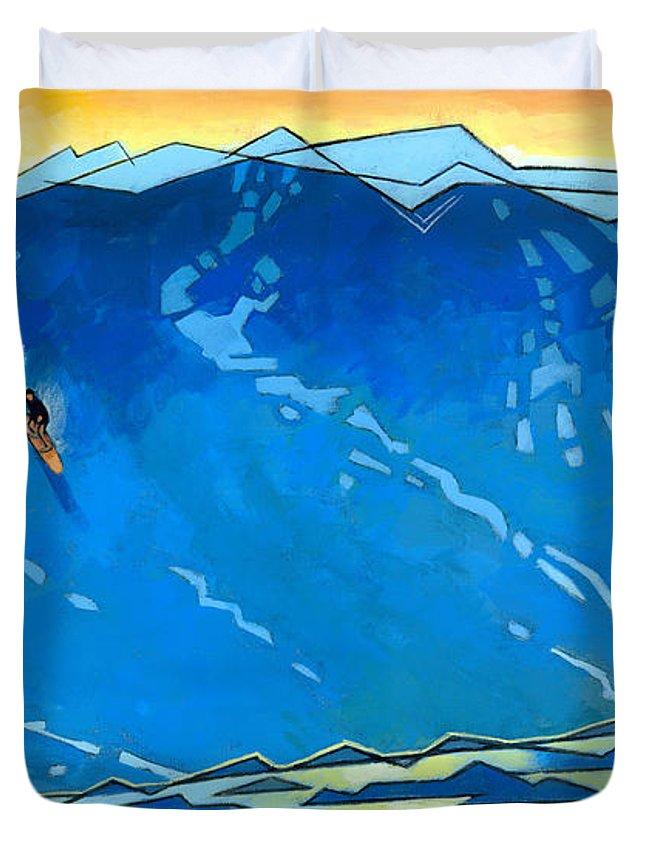 Surfer Duvet Covers