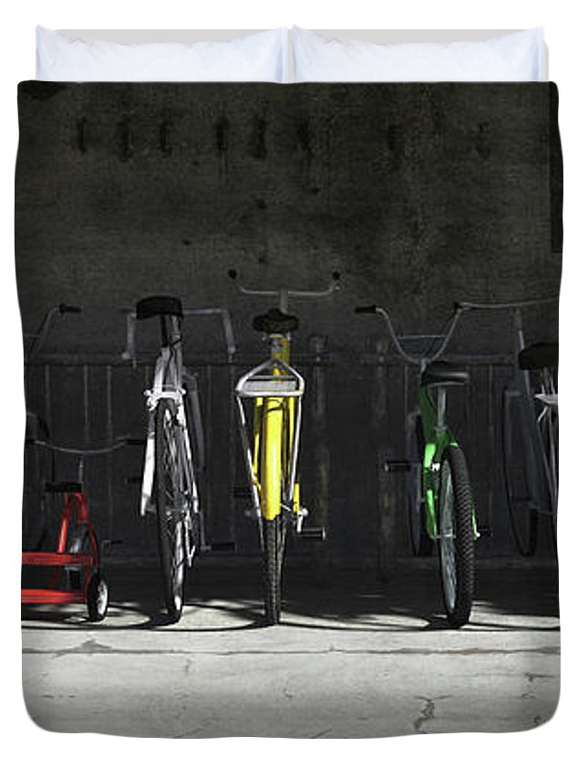 Bikes Duvet Covers