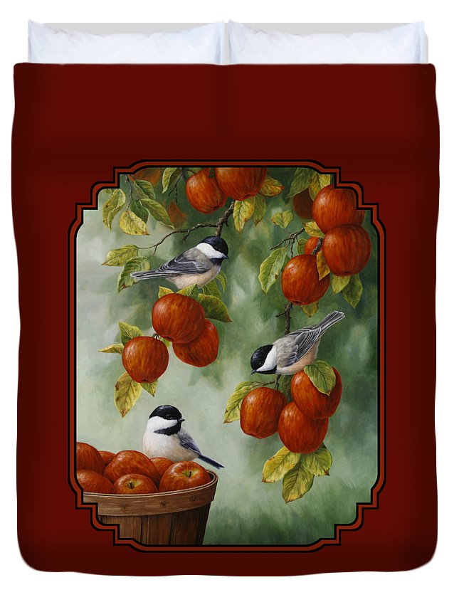 Chickadee Duvet Covers