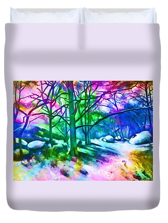 Birthday Duvet Cover featuring the photograph Birthday by Munir Alawi
