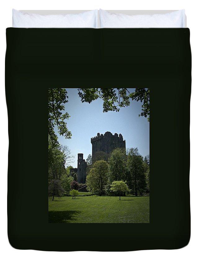 Irish Duvet Cover featuring the photograph Blarney Castle Ireland by Teresa Mucha