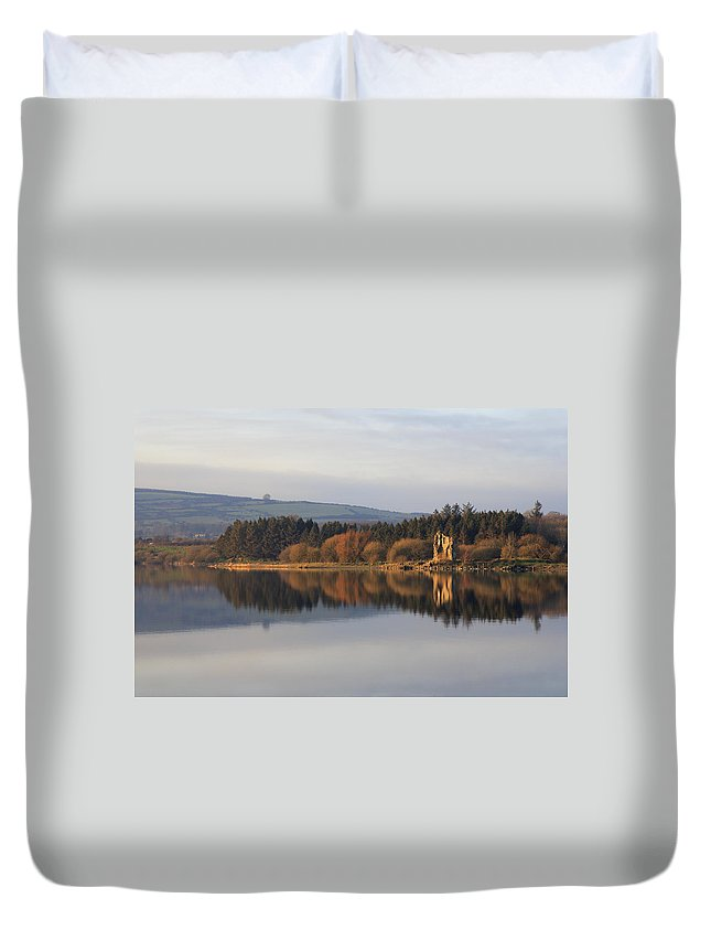 Lake Duvet Cover featuring the photograph Blessington Lakes by Phil Crean
