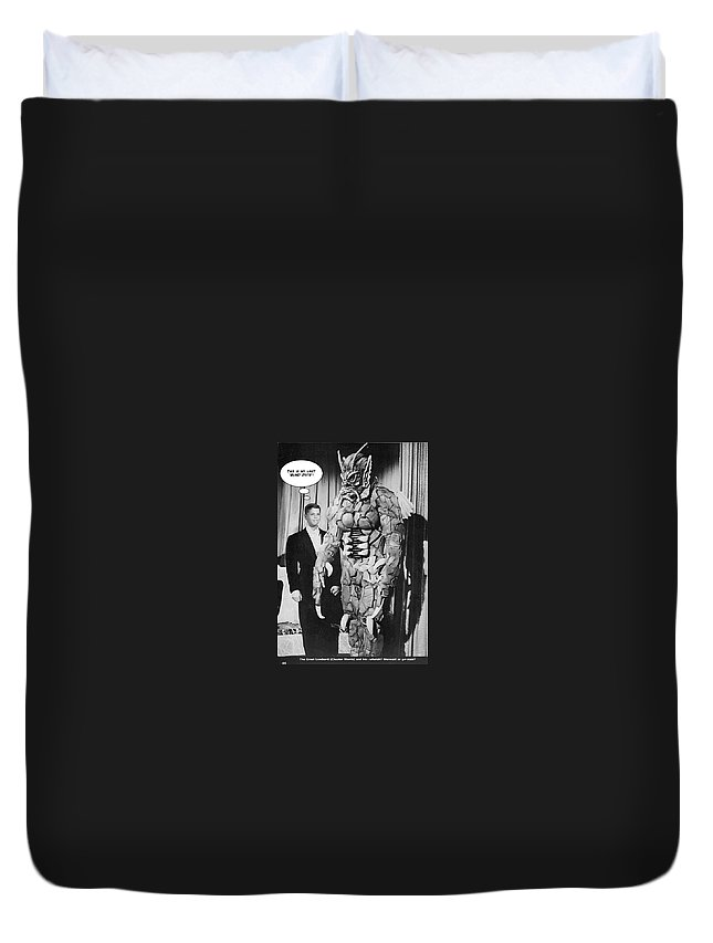 2d Duvet Cover featuring the photograph Blind Date by Brian Wallace