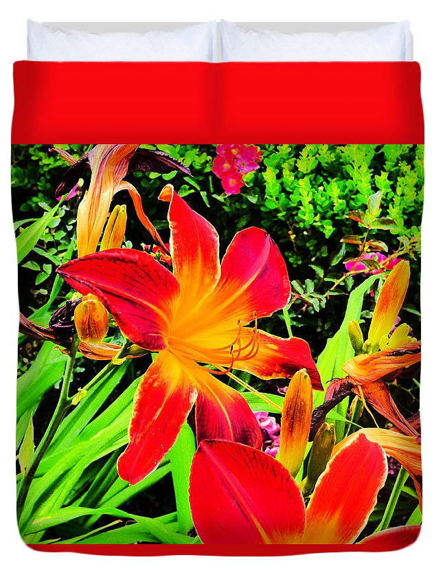 Paul Stanner Duvet Cover featuring the photograph Bliss by Paul Stanner