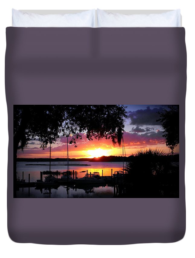 Duvet Cover featuring the photograph Blissful Dream by Joseph Stewart