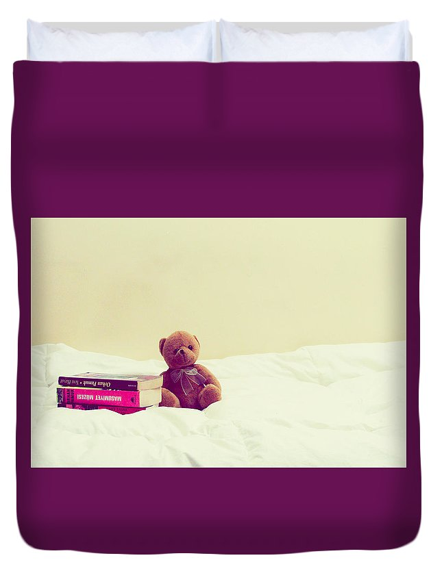 Bobo Duvet Cover featuring the photograph Bobo by Onur KURT