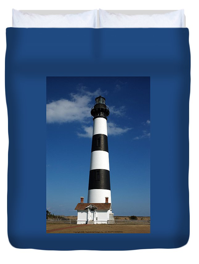 Bodie Duvet Cover featuring the photograph Bodie Lighthouse by Kelvin Booker