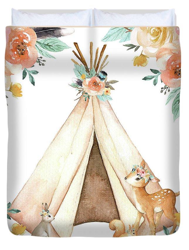 Teepee Duvet Covers
