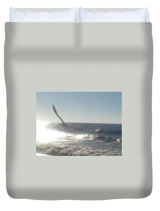 Duvet Cover featuring the photograph Born Free by Becky Haines