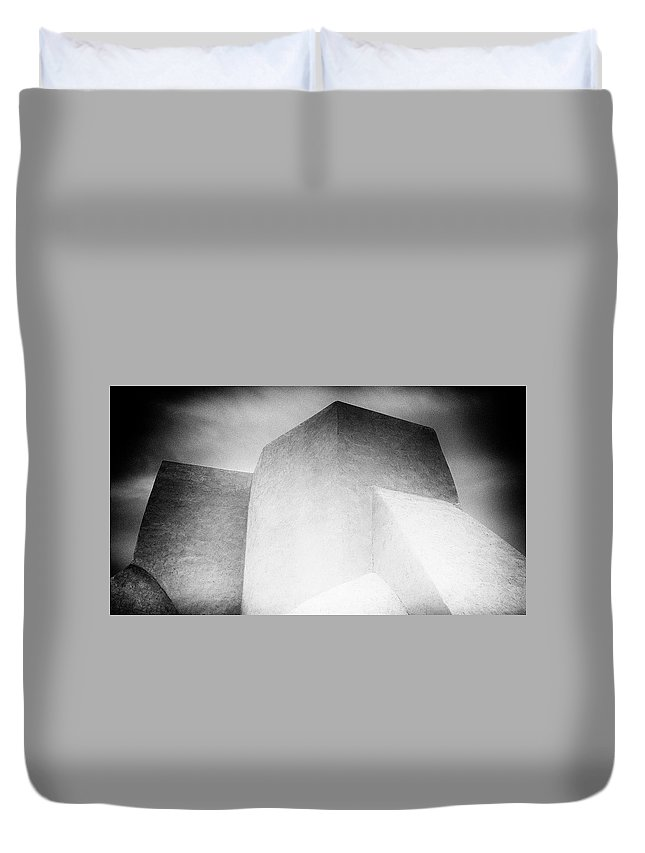 Duvet Cover featuring the photograph Both Spirits by Timothy Princehorn