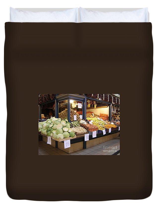Food Duvet Cover featuring the photograph Bountiful by Mary Rogers