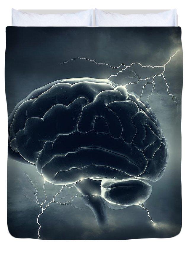 Brain Duvet Covers