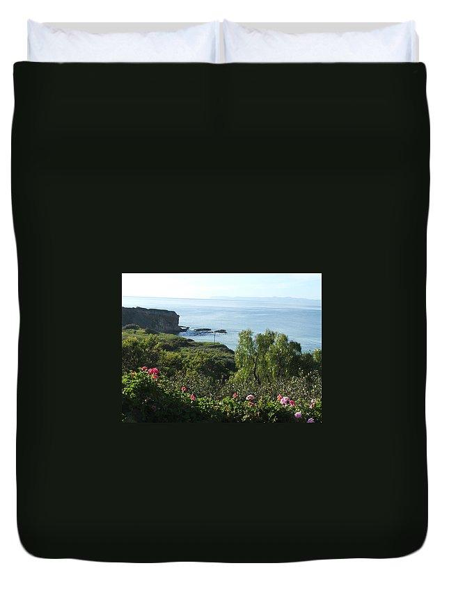Landscape Duvet Cover featuring the photograph Breath Of Fresh Air by Shari Chavira
