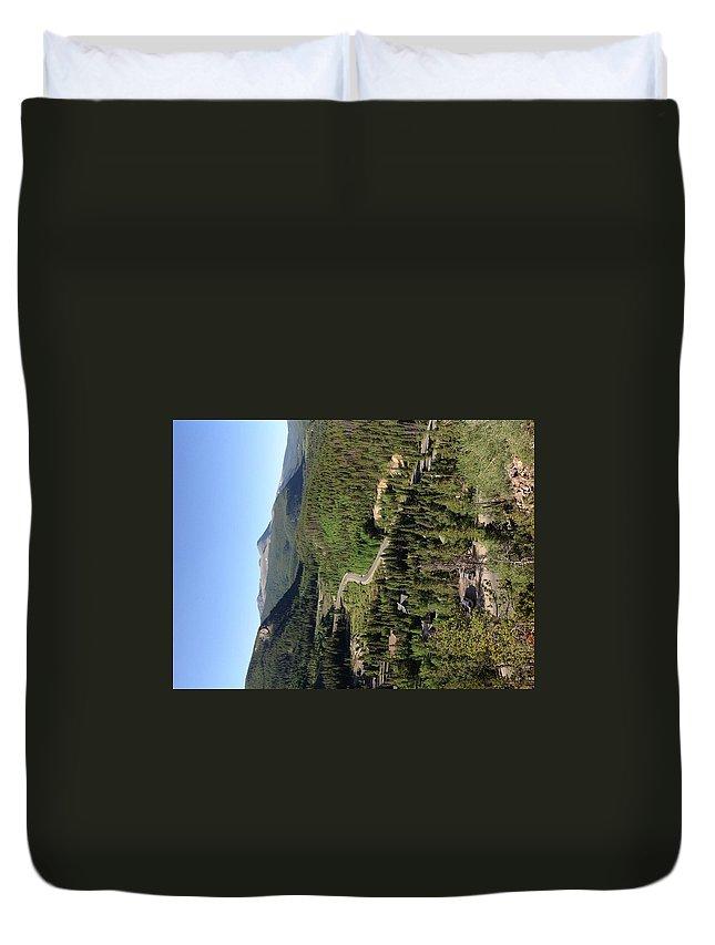 Colorado Duvet Cover featuring the photograph Breckenridge, Colorado by George Polakoff