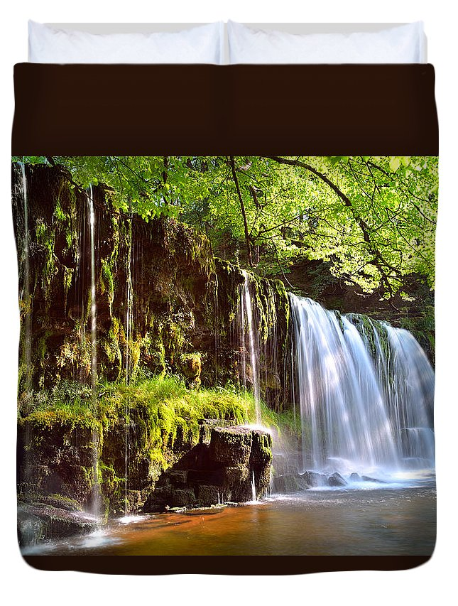 Brecon Beacons Duvet Cover featuring the photograph Brecon Beacons National Park 1 by Phil Fitzsimmons