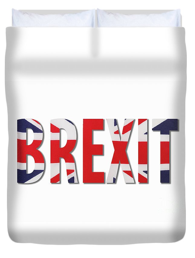 Brexit Duvet Cover featuring the photograph Brexit by Diane Macdonald