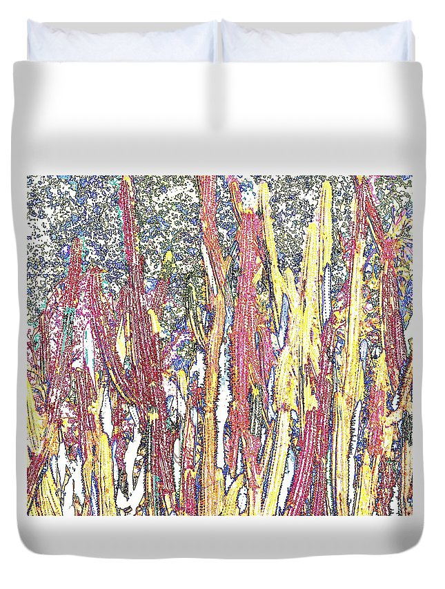 Forest Duvet Cover featuring the photograph Brimstone Forest by Ian MacDonald