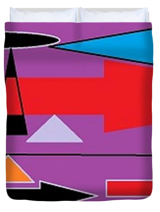 Broken Arrow 1 Duvet Cover For Sale By Linda Velasquez