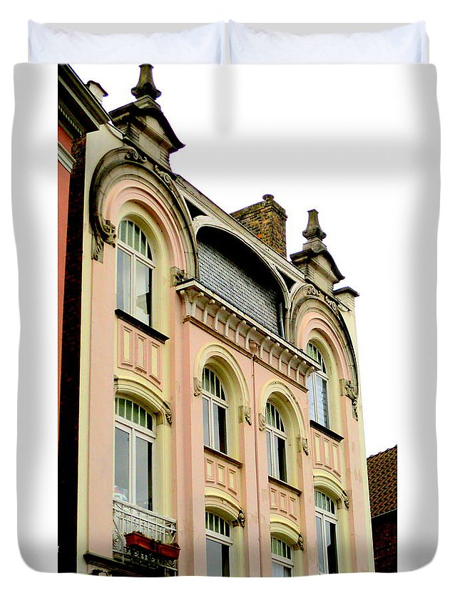 Bruges Duvet Cover featuring the photograph Bruges 12 by Randall Weidner