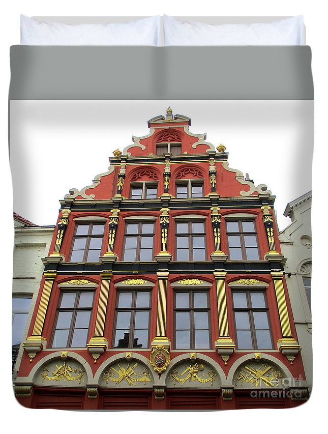 Bruges Duvet Cover featuring the photograph Bruges 36 by Randall Weidner
