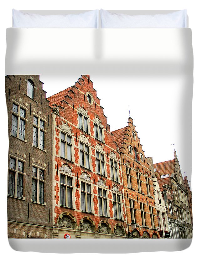 Bruges Duvet Cover featuring the photograph Bruges 38 by Randall Weidner