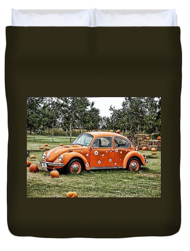 Bug Duvet Cover featuring the photograph Bugs In The Patch Again by Scott Wyatt