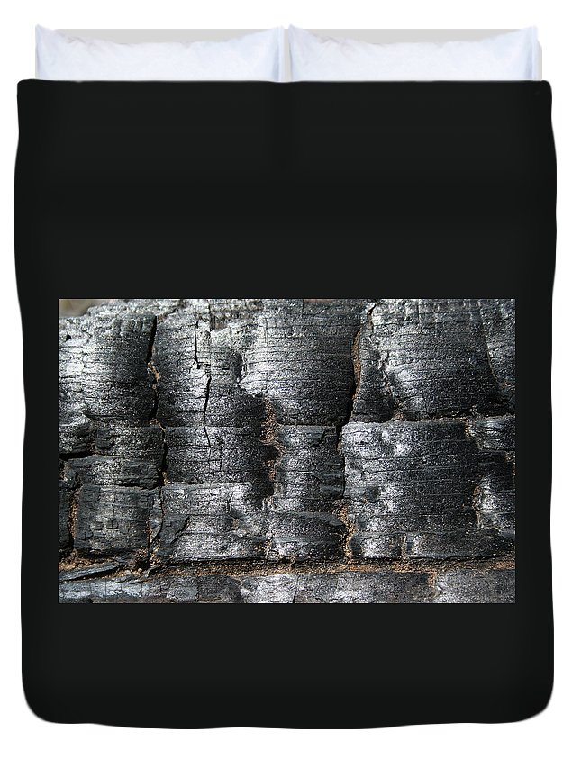 Burn Duvet Cover featuring the photograph Burn by Ric Bascobert