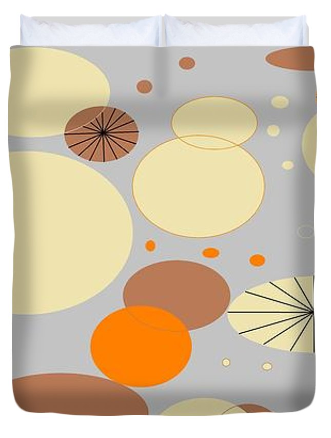 Burst Of Orange Duvet Cover For Sale By Linda Velasquez