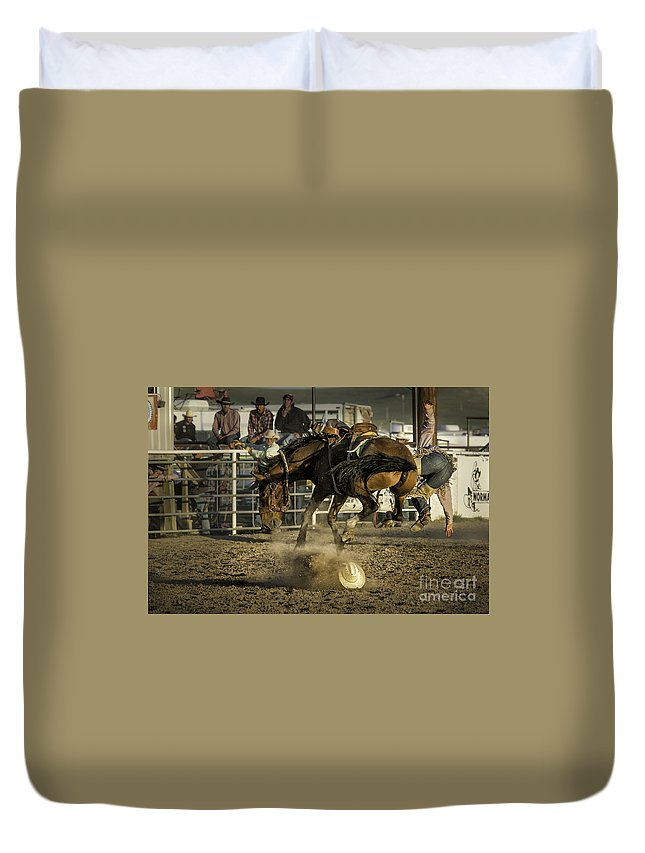 Montana Duvet Cover featuring the photograph But Butt by Timothy Hacker