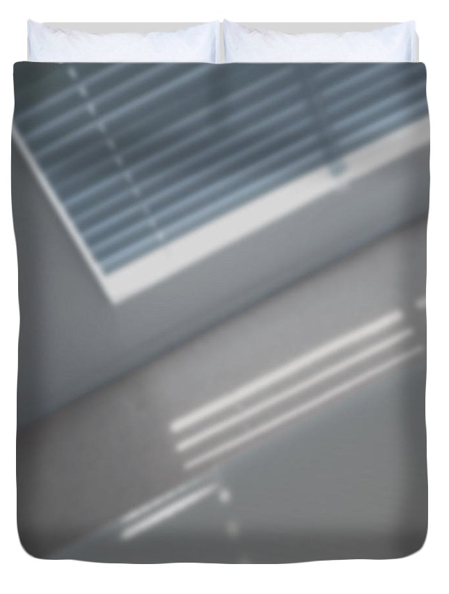 what Light Through Yonder Window Breaks Duvet Cover featuring the photograph But Soft by Stan Magnan
