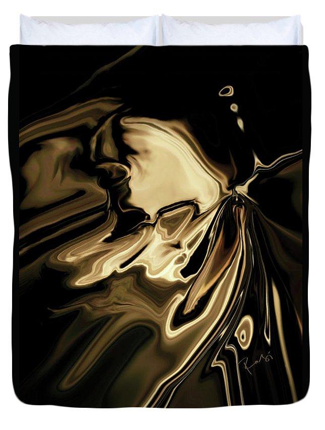 Butterfly Duvet Cover featuring the digital art Butterfly 2 by Rabi Khan