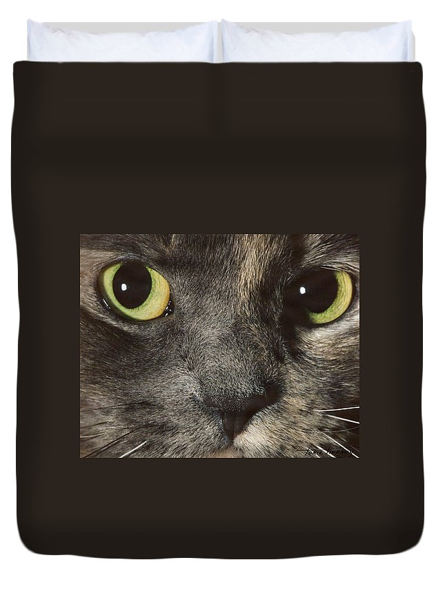 Faunagraphs Duvet Cover featuring the photograph C2 Quisha by Torie Tiffany