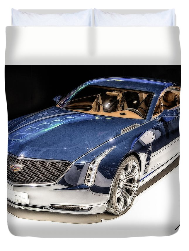 Cadillac Duvet Cover featuring the photograph Cadillac Elmiraj by Duschan Tomic