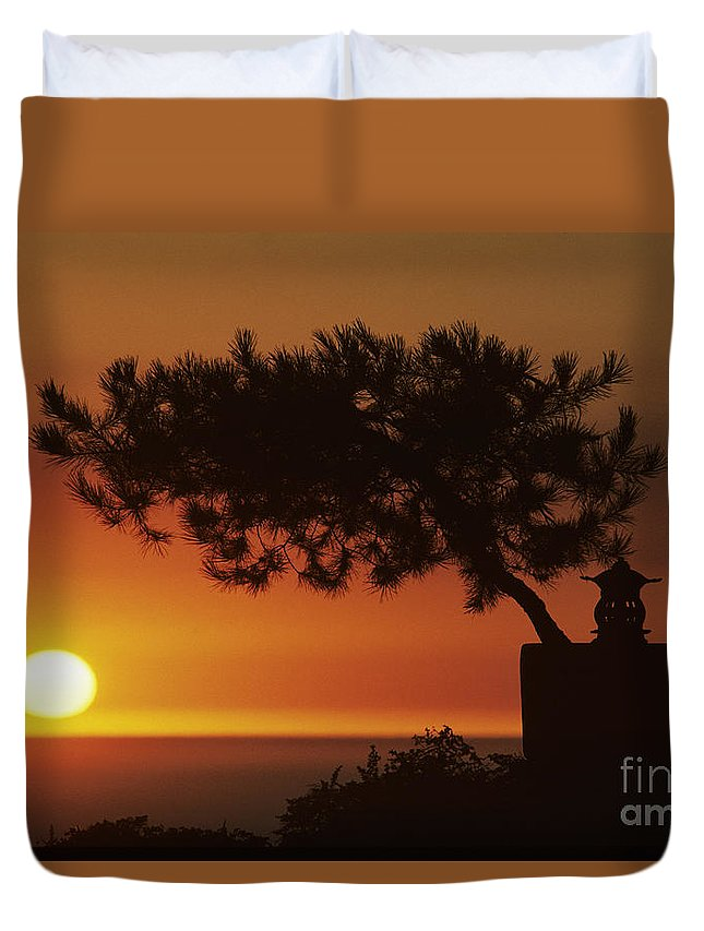 America Duvet Cover featuring the photograph California, Big Sur Coast by Larry Dale Gordon - Printscapes