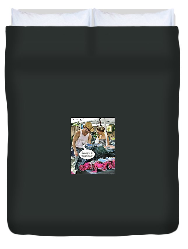 2d Duvet Cover featuring the photograph Can Never Have Too Many by Brian Wallace