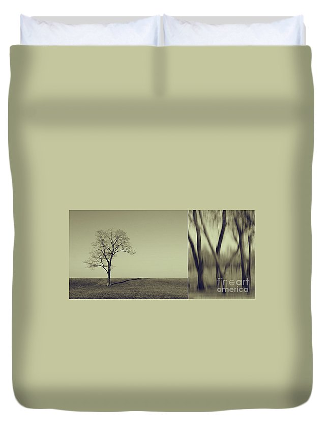 Chicago Duvet Cover featuring the photograph Can You Hear My Silent Words Whispering Along The Wind by Dana DiPasquale