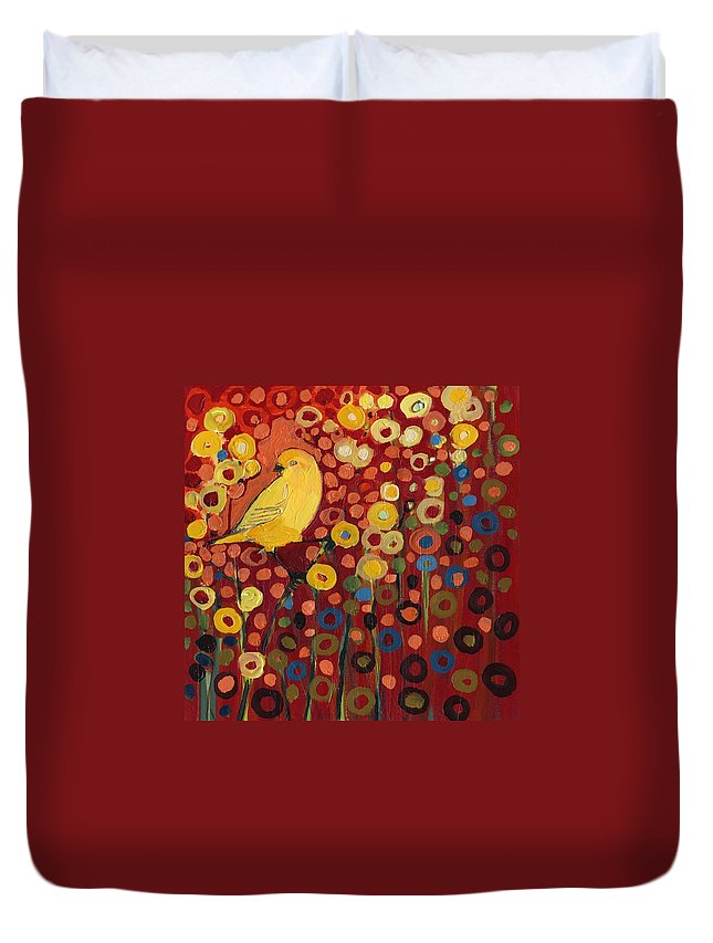 Yellow Bird Duvet Covers