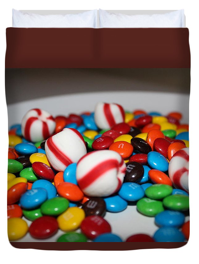 Candy Duvet Cover featuring the photograph Candy by Adam Norman