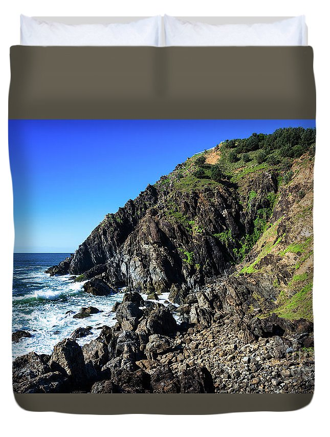 2017 Duvet Cover featuring the photograph Cape Byron by Andrew Michael