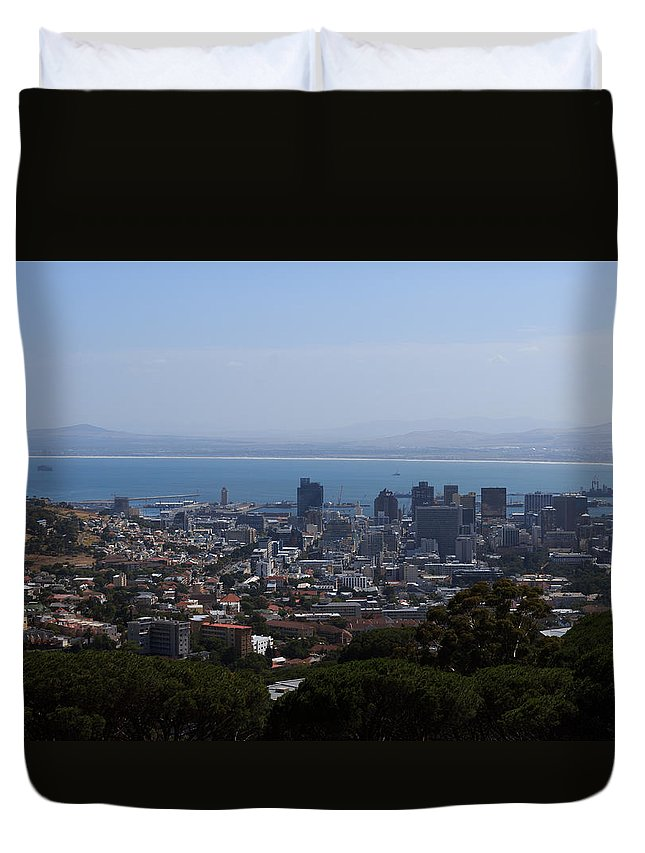Africa Duvet Cover featuring the photograph Cape Town by Davide Guidolin