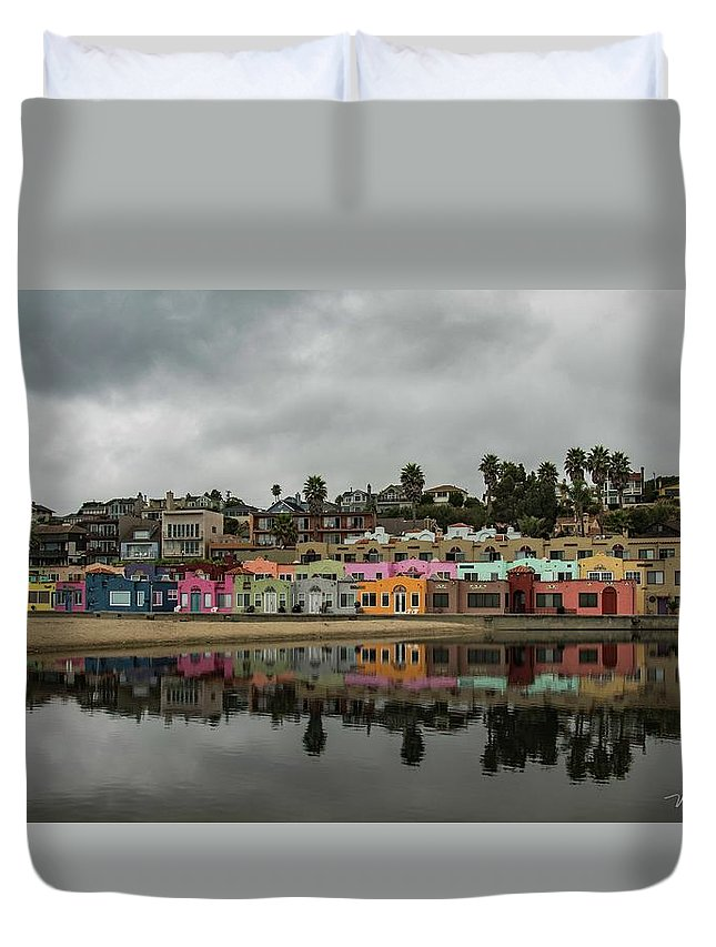 Duvet Cover featuring the photograph Capitola 1 by Wendy Carrington