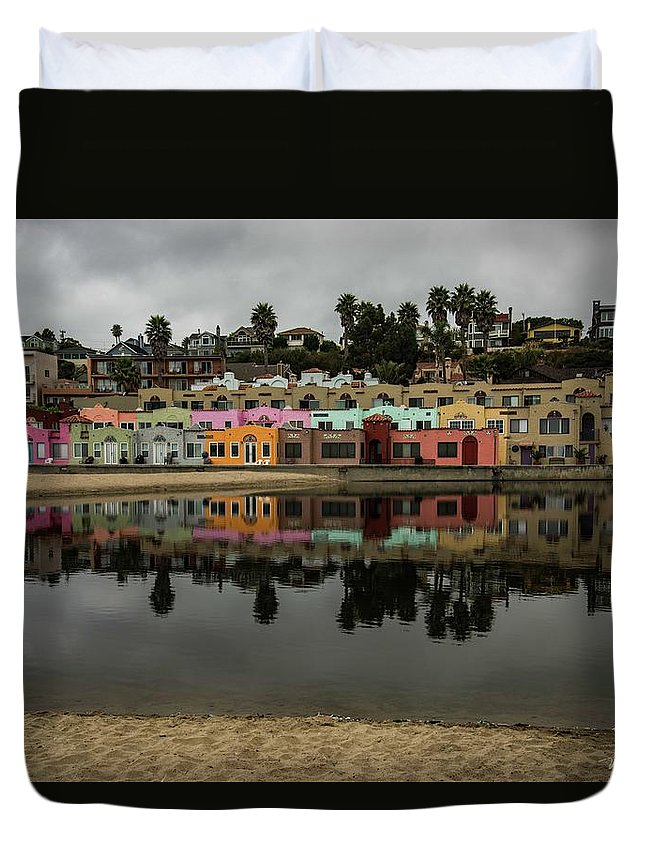 Duvet Cover featuring the photograph Capitola 2 by Wendy Carrington