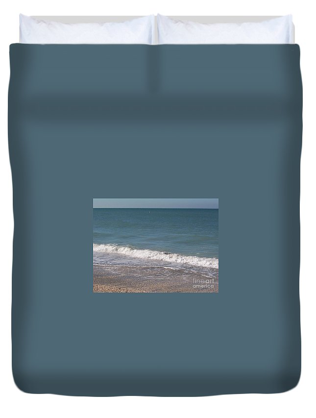 Beach Duvet Cover featuring the photograph Captiva by Elizabeth Klecker