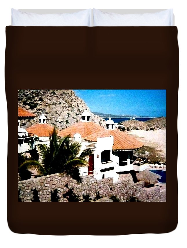 Mexico Duvet Cover featuring the photograph Captivating Cabo by Will Borden