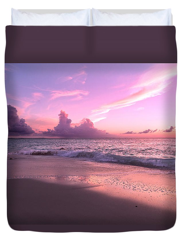 Beach Duvet Cover featuring the photograph Caribbean Tranquility by Betsy Knapp
