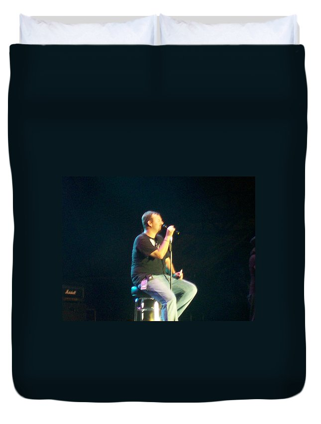 Casting Crowns Duvet Cover featuring the photograph Casting Crowns by R Chambers